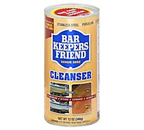 Bar Keepers Friend Cleanser & Polish - 12 Oz