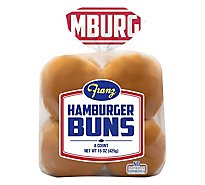 Franz Hamburger Buns 8 Count - 15 Oz
