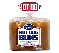 Franz Hot Dog Buns 8 Count - 12 Oz