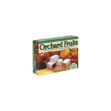 Liberty Orchards Orchard Fruits Fat Free - 6 Oz