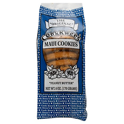 Cookkwees Peanut Butter Cookies - 6 Oz