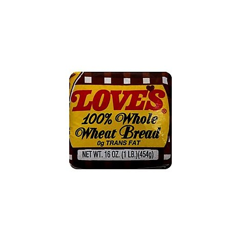 Loves Bread 100% Whole Wheat - 16 Oz