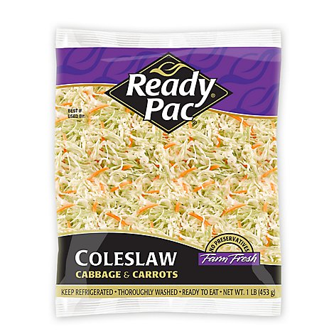 Ready Pac Coleslaw Mix Prepacked - 16 Oz