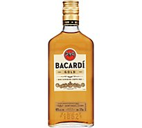 Bacardi Rum Gold 80 Proof - 375 Ml