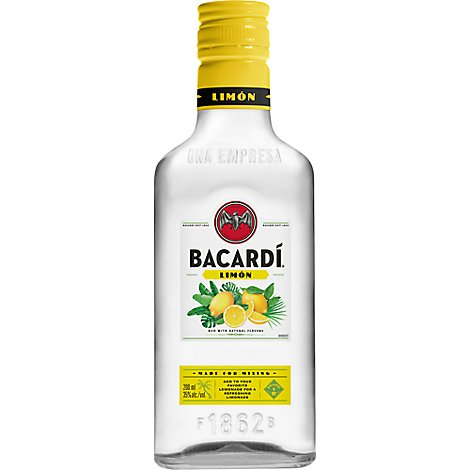 Bacardi Rum With Natural Flavor Limon - 200 Ml