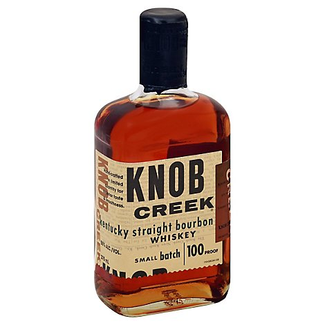 Knob Creek Whiskey Bourbon Kentucky Straight 100 Proof - 375 Ml