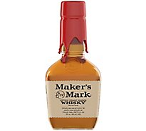 Makers Mark Kentucky Straight Bourbon Whisky 90 Proof Replica Bottle - 375 Ml