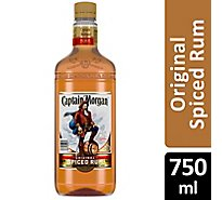Captain Morgan Rum Spiced Original 70 Proof - 750 Ml