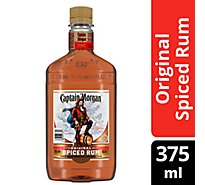 Captain Morgan Rum Spiced Original 70 Proof - 375 Ml