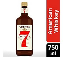 Seagrams 7 Crown Whiskey Blended American 80 Proof PET - 750 Ml