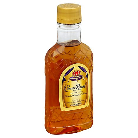Seagrams Crown Royal Blended Canadian Whisky 80 Proof - 200 Ml