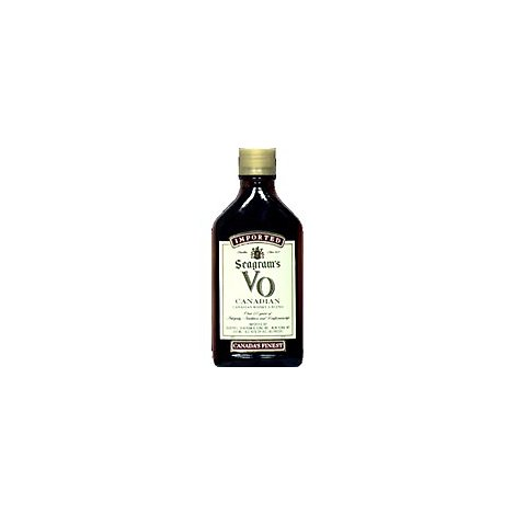 Seagrams VO Blended Canadian Whisky 80 Proof - 200 Ml