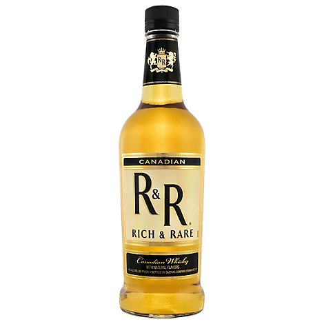 Rich & Rare Canadian Whiskey 80 Proof Glass - 750 Ml