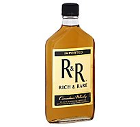 Rich & Rare Canadian Whiskey 80 Proof - 375 Ml
