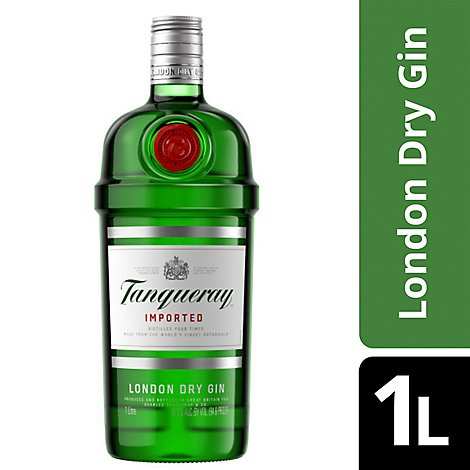 Tanqueray Gin London Dry Gin 94.6 Proof- 1 Liter