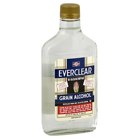 Everclear Grain Alchohol - 375 Ml