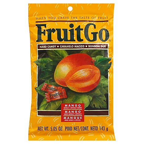 Fruitgo Mango Candy - 5.2 Oz