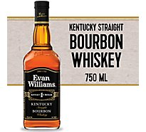 Evan Williams Whiskey Bourbon Kentucky Straight 86 Proof - 750 Ml