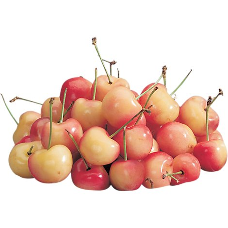Organic Rainier Cherries Prepacked Bag - 2 Lb