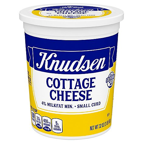 Knudsen Cottage Cheese Small Curd - 32 Oz