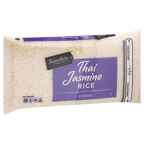 Signature SELECT Rice Jasmine Thai Long Grain - 5 Lb