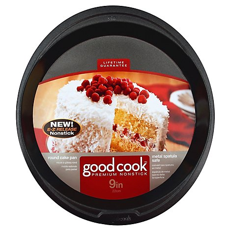 Good Cook Cake Pan Round 9in - Each