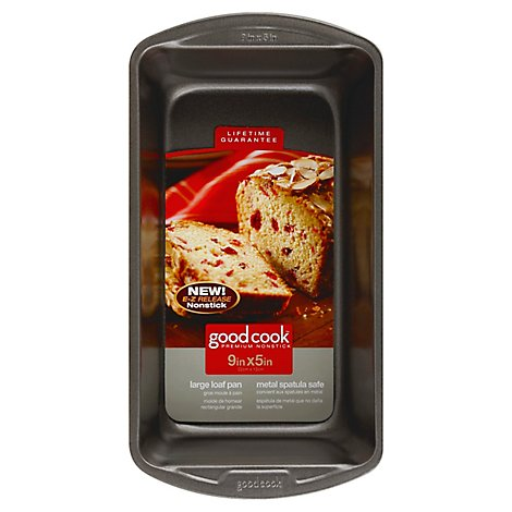 Good Cook Loaf Pan Large 9in x 5in - Each