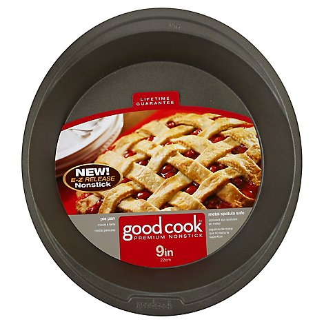 Good Cook Premium Pie Pan Non Stick 9 Inch - Each