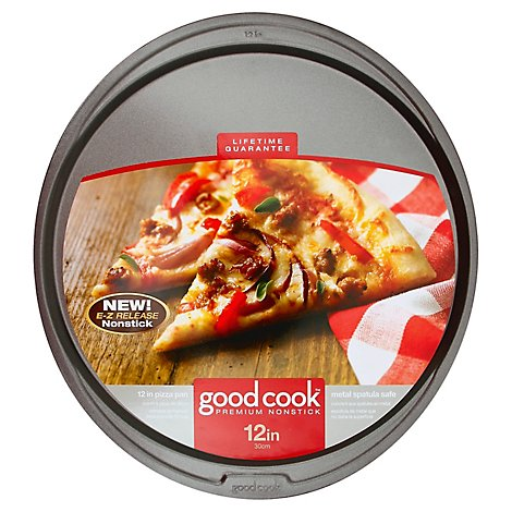 Good Cook Nonstick Pizza Pan 12in - Each