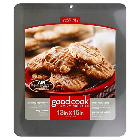Good Cook Cookie Sheet Insulated Premium Non Stick 13x16 In - Each