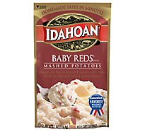 Idahoan Potatoes Mashed Baby Reds Pouch - 4.1 Oz