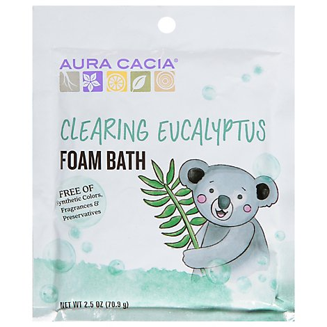 Aura Cacia Clearing Kids Foam Bath - 2.5 Oz