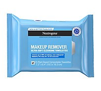 Neutrogena Makeup Remover Cleansing Towelettes Refill Pack Pre Moistened - 25 Count