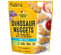 Foster Farms Chicken Nuggets Whole Grain Dinosaur Shaped - 28 Oz