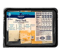 Lucerne Cheese Natural Party Pleasers Variety - 16 Oz
