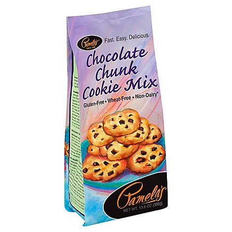 Pamelas Cookie Mix Chocolate chunk - 13.6 Oz