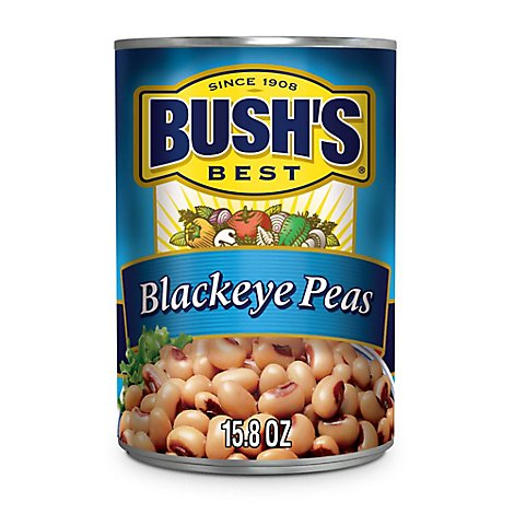 Bushs Best Peas Blackeyed - 15.8 oz
