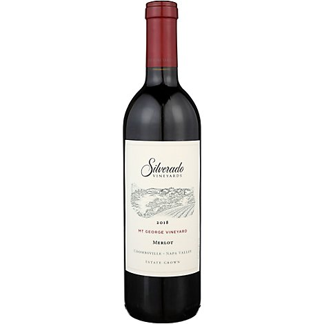 Silverado Wine Merlot Napa Valley - 750 Ml