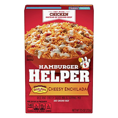 Betty Crocker Hamburger Helper Cheesy Enchilada Box - 7.5 Oz
