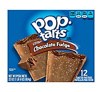 Pop-Tarts Toaster Pastries Frosted Chocolate Fudge 12 Count - 22 Oz