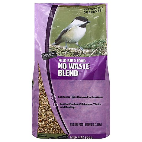 Signature Pet Care/Priority Wild Bird Food Premium No Waste Blend - 5 Lb