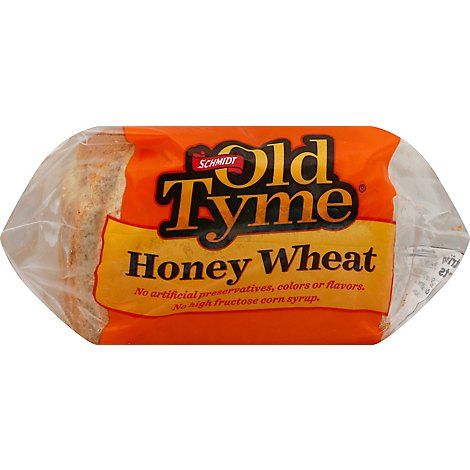 Schmidt Old Tyme Bread Honey Wheat Enriched - 20 Oz