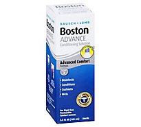 Bausch & Lomb Boston Advance Conditioning Solution Advanced Comfort Formula - 3.5 Fl. Oz.