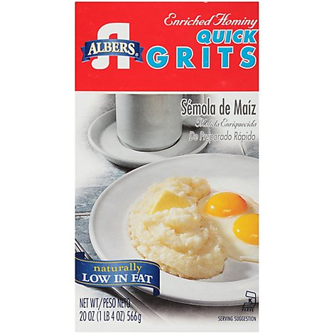 Albers Quick Grits Enriched Hominy - 20 Oz