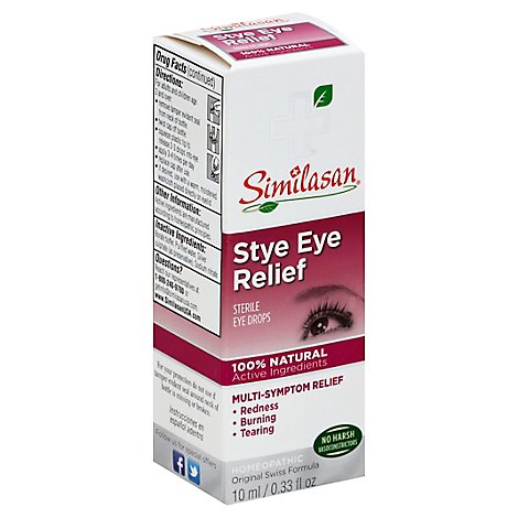 Similasan Stye Eye Relief Eye Drops - .33 Fl. Oz.