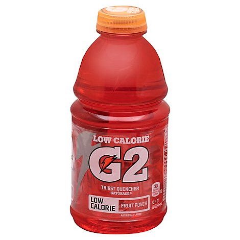 Gatorade G2 Thirst Quencher Perform 02 Low Calorie Fruit Punch - 32 Fl. Oz.