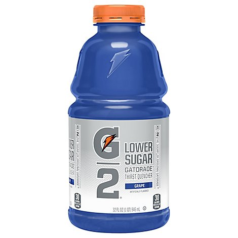 Gatorade G2 Thirst Quencher Low Calorie Grape - 32 Fl. Oz.