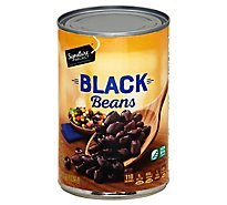 Signature SELECT Beans Black - 15 Oz
