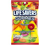 Life Savers 5 Flavors Gummies Candy Bag 7 Oz