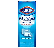 Clorox Toilet Wand Refills Disinfecting - 10 Count